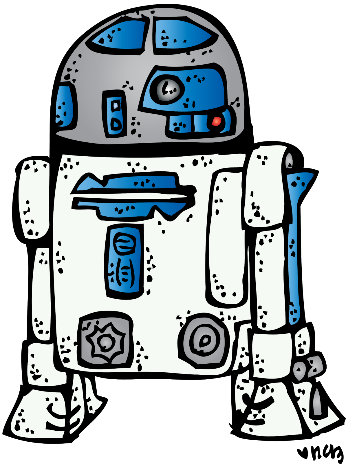 R d dress up. Starwars clipart melonheadz