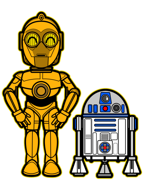 Starwars clipart cute. Star wars c po
