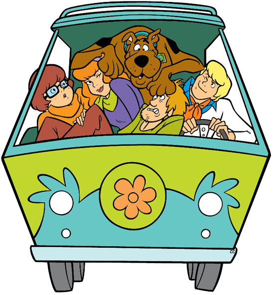 scooby doo clipart printable