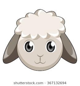 Lamb clipart lamb head. Sheep station