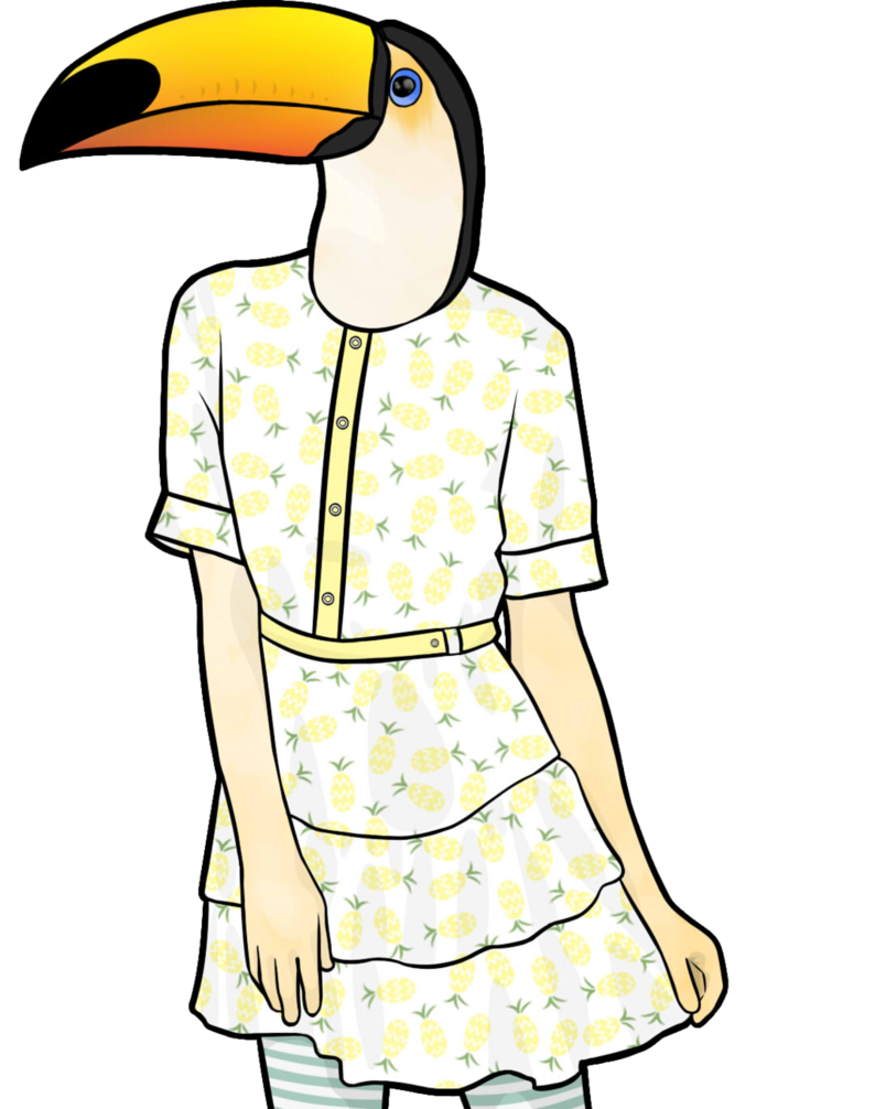Drawing at getdrawings com. Toucan clipart christmas