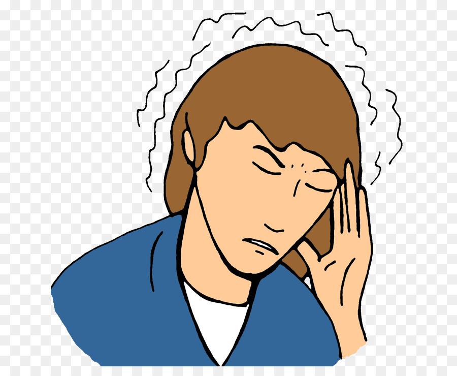 Back pain migraine clip. Headache clipart