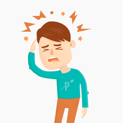 Paleo and migraines pinterest. Headache clipart