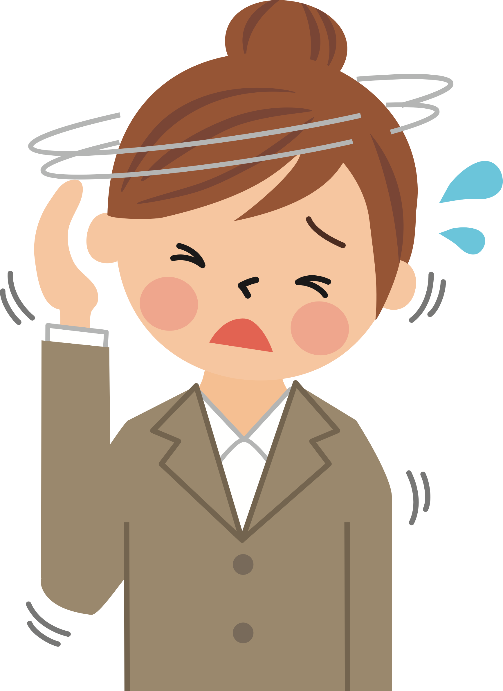 Headache clipart. Big image png