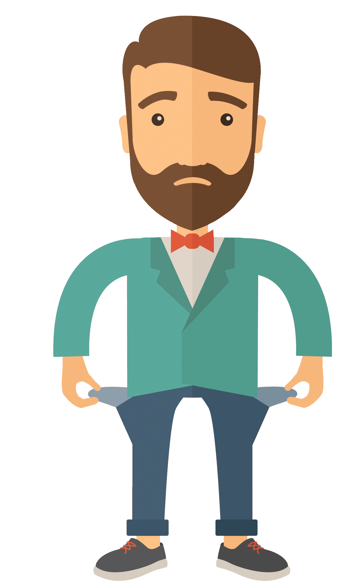 Ecom subscription pro physical. Worry clipart passive person