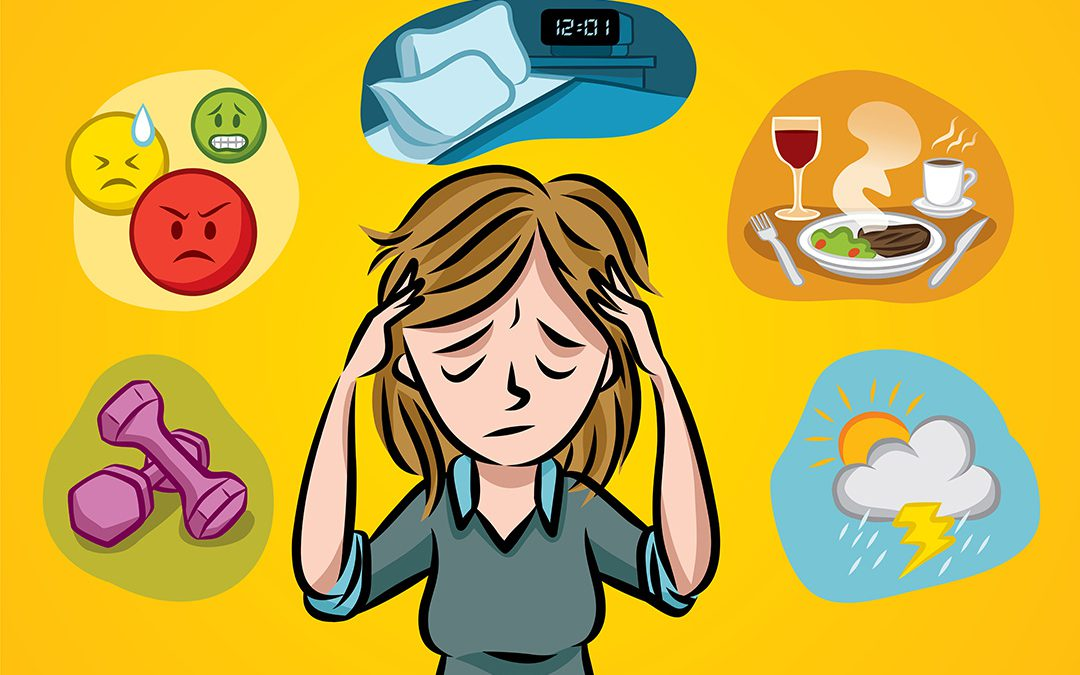 What foods could be. Headache clipart sensitivity