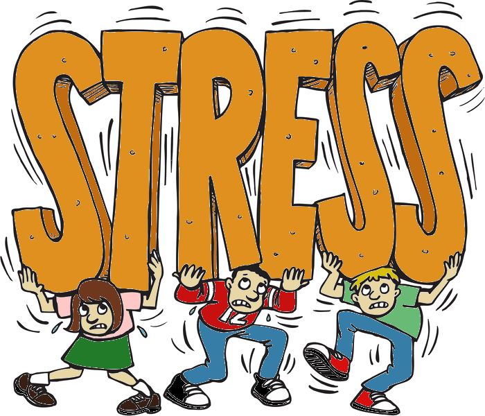 Stress clipart stressed employee.  try again png