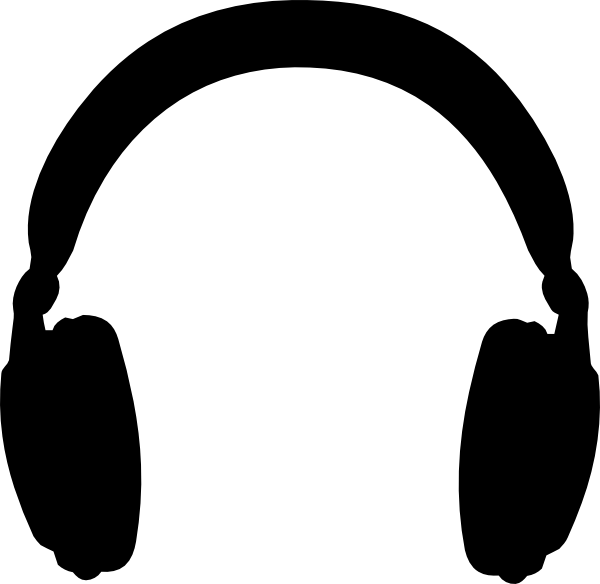 Headphone clipart.  collection of high