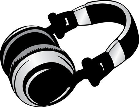 Headphone clipart. Free and vector graphics