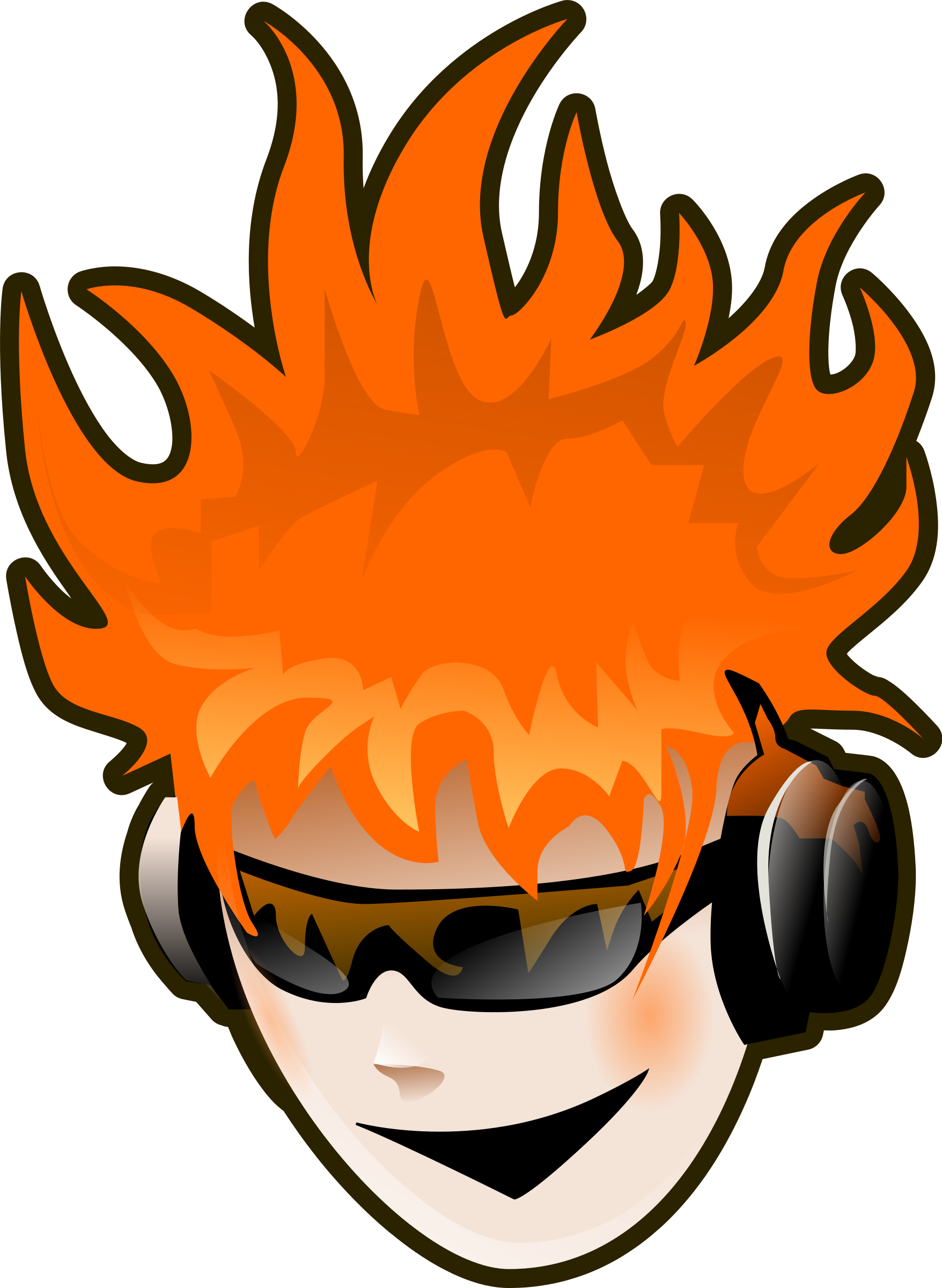 Music big image png. Headphone clipart animated