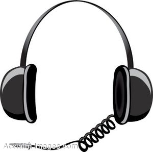 Headphones clip art bay. Headphone clipart animated
