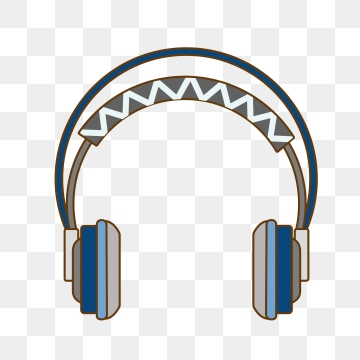 Headphone clipart animated. Cartoon headphones png images