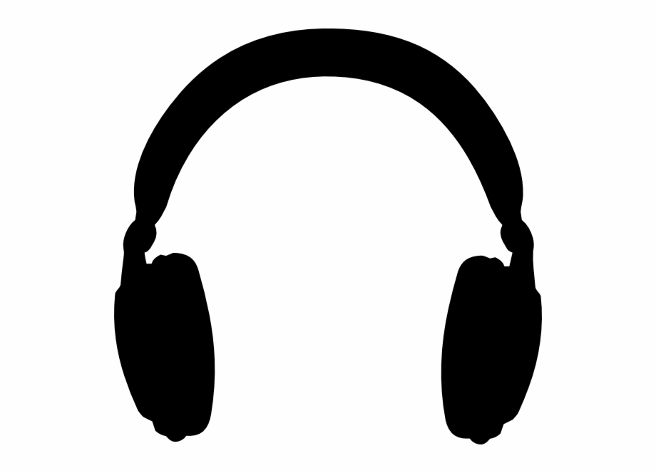 Free headphones download clip. Headphone clipart black and white