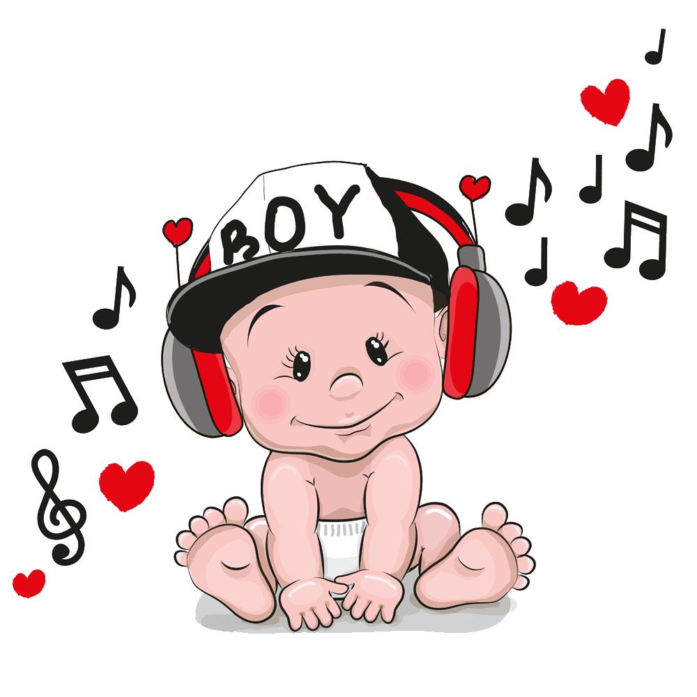 Headphone clipart child music. Headphones cartoon clip art