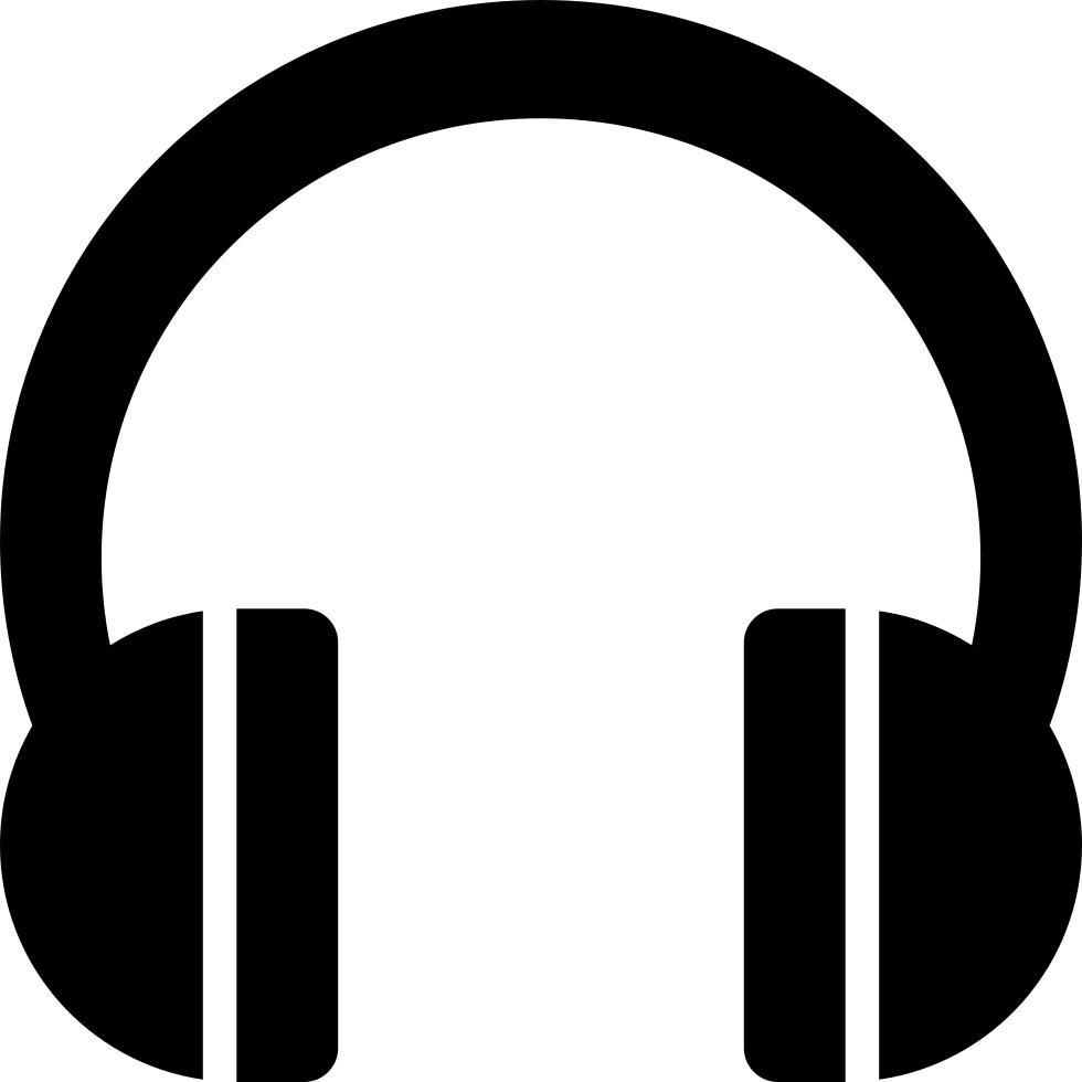 Headphone clipart child music. Headphones headset audio svg