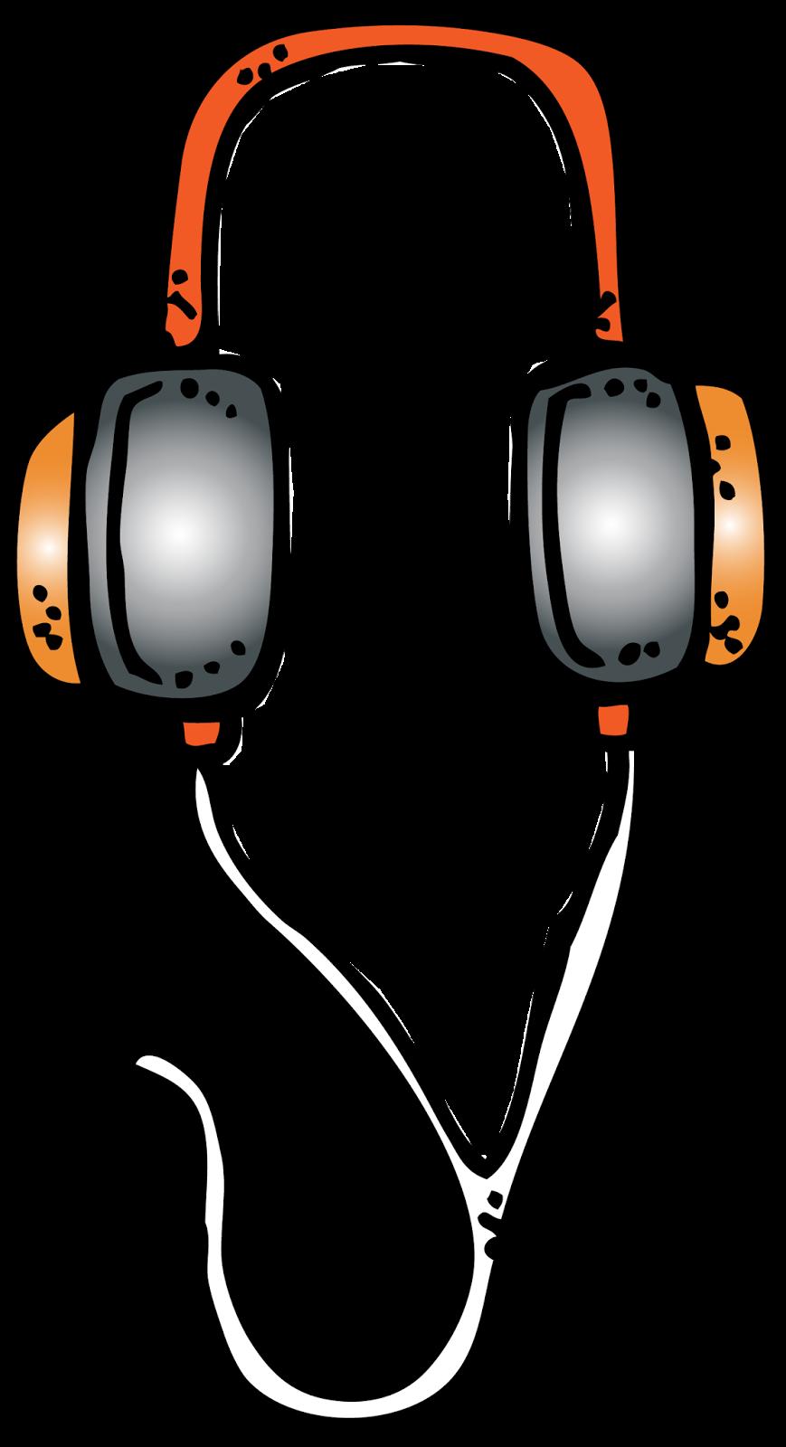 Pin ni nicole reyes. Headphones clipart classroom