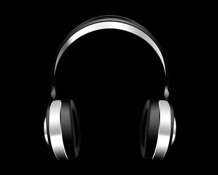 Music headphone png free. Headphones clipart transparent background