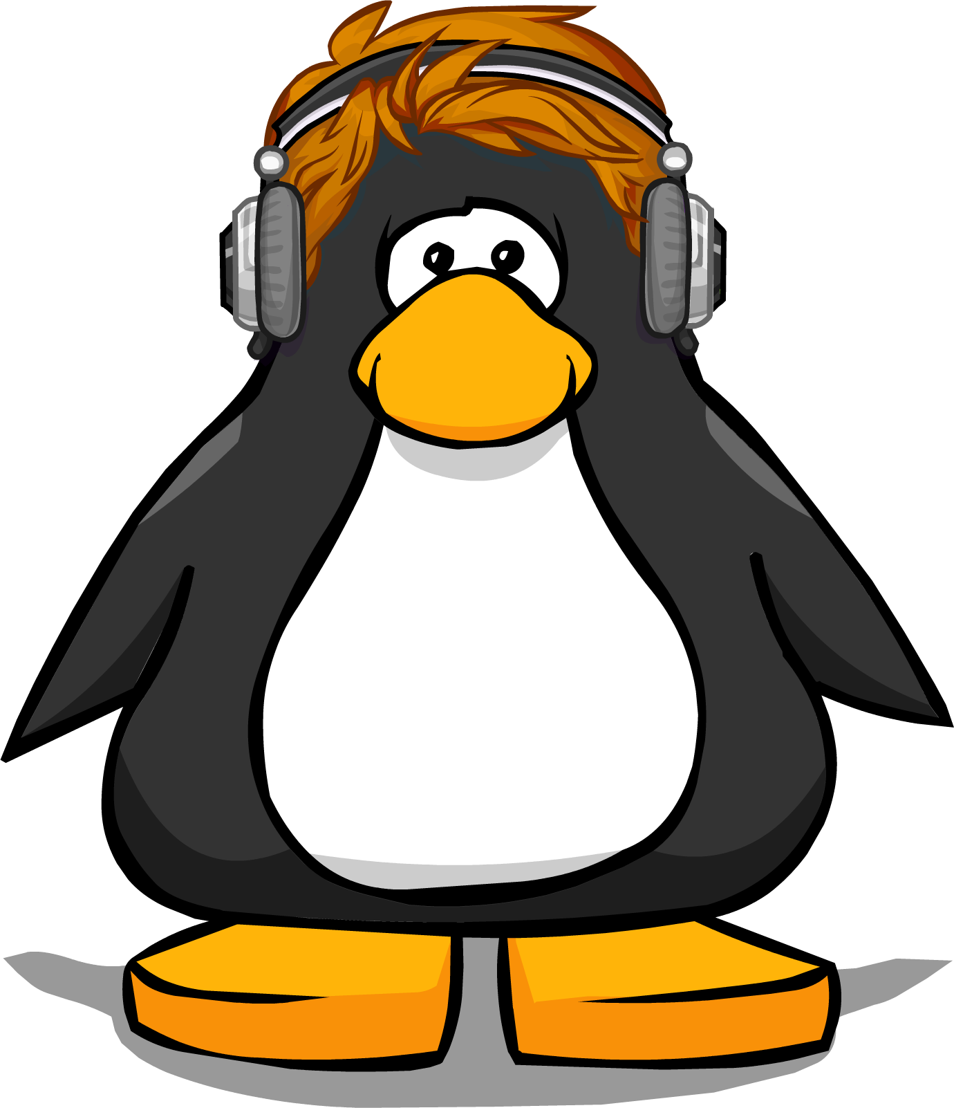 Image redhead from a. Headphones clipart comic