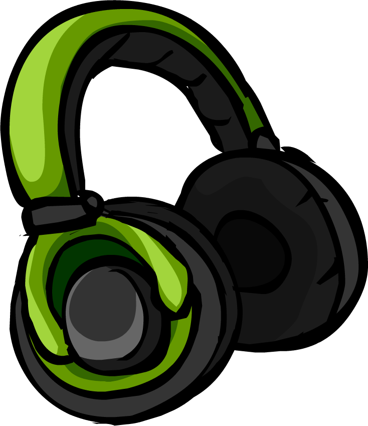 headphones clipart comic