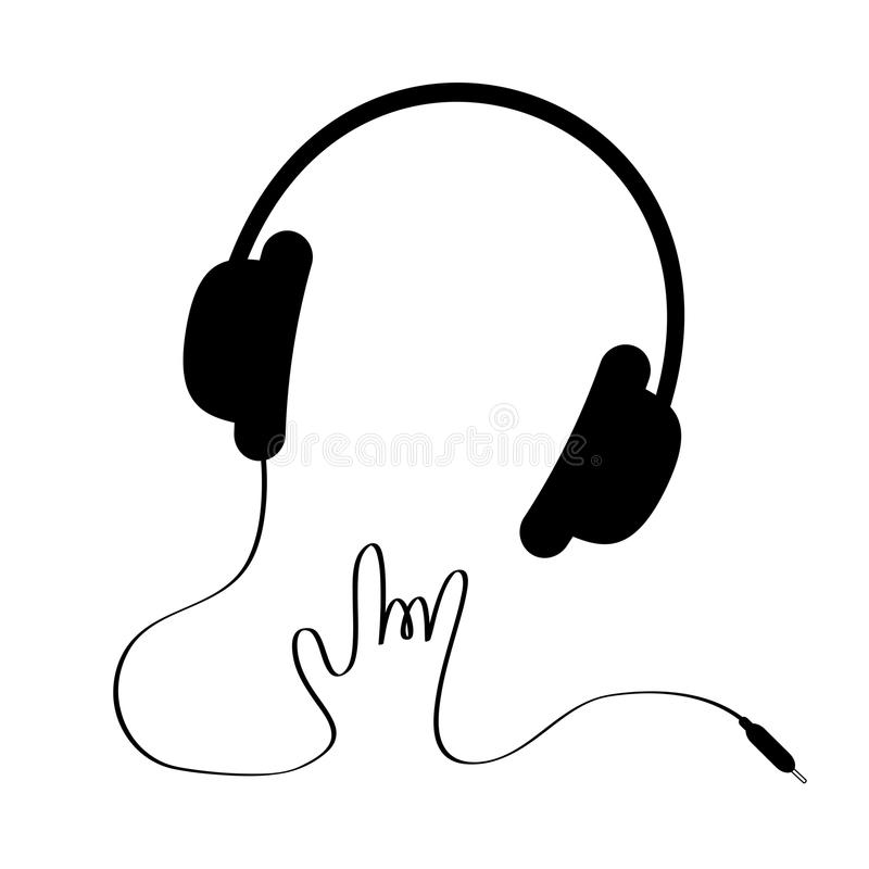 Headphone clipart cord clipart. Resolution headphones with