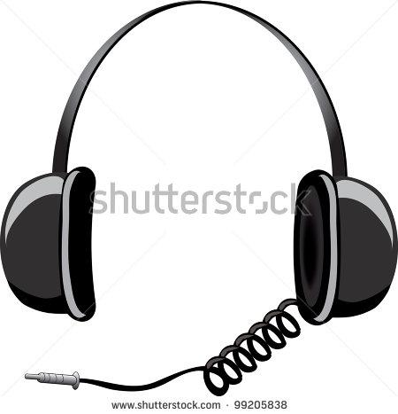Headphones clip art free. Headphone clipart cord clipart