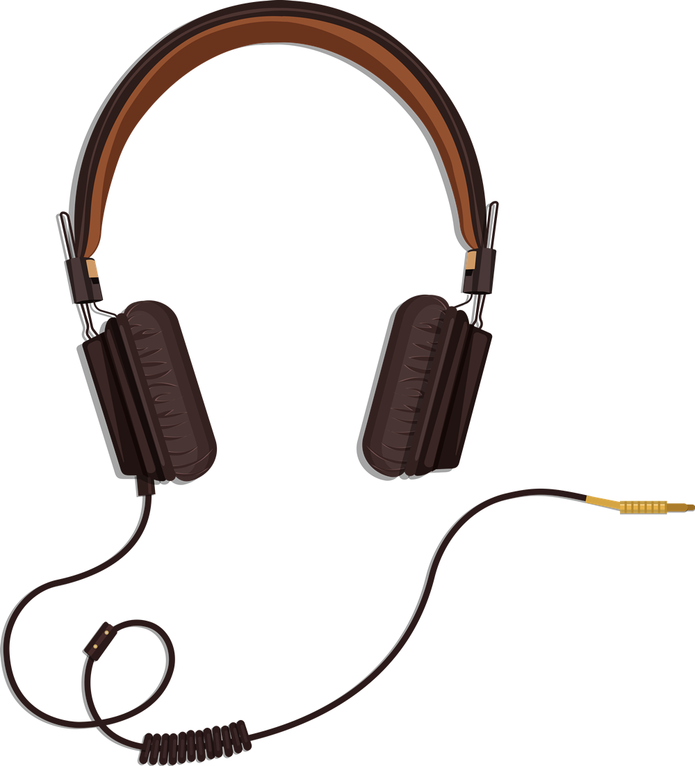 Headphones free download best. Headphone clipart cord clipart