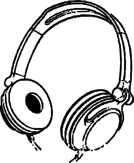 Free pictures headphone images. Headphones clipart listening post