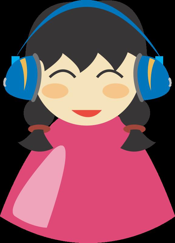 headphone clipart cute