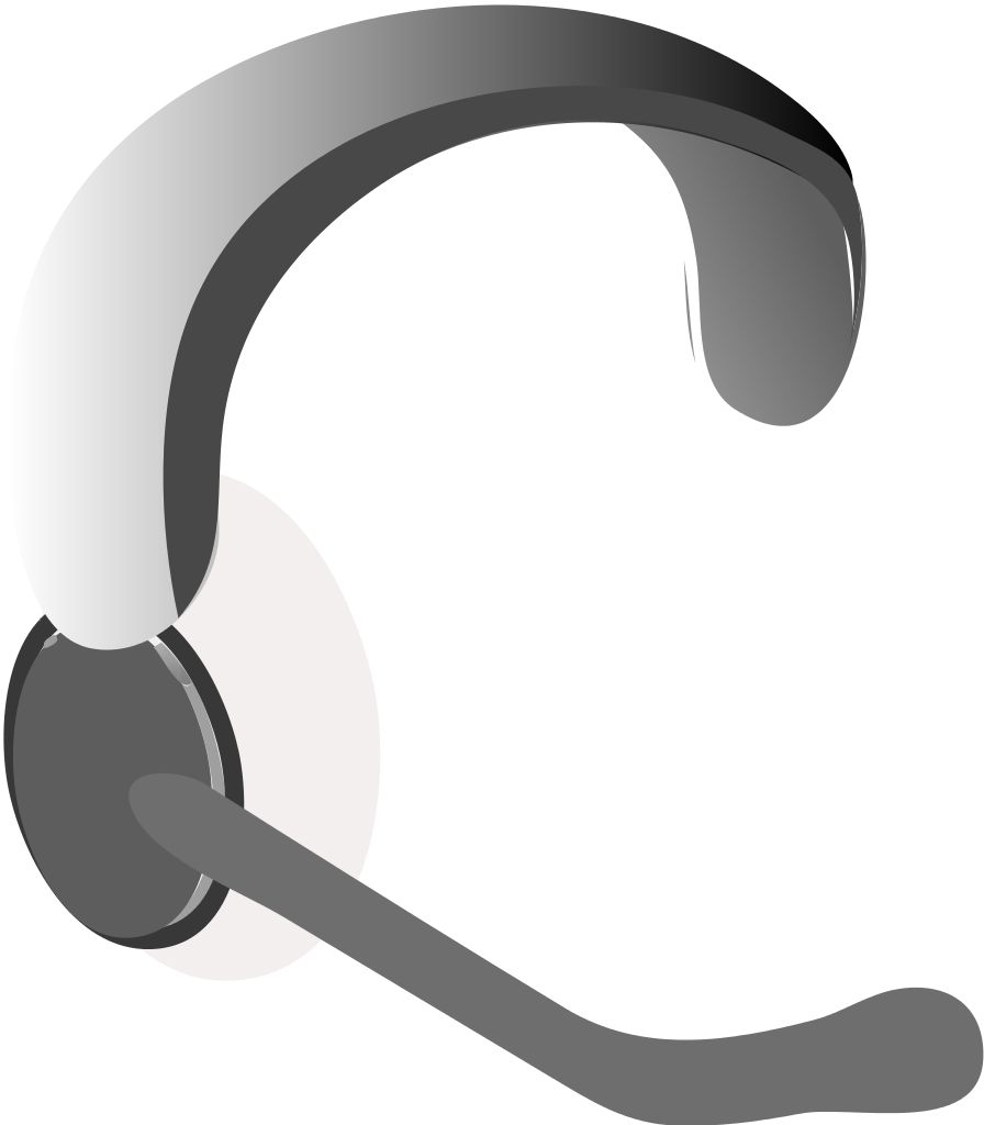 File icon svg wikimedia. Headphones clipart headset