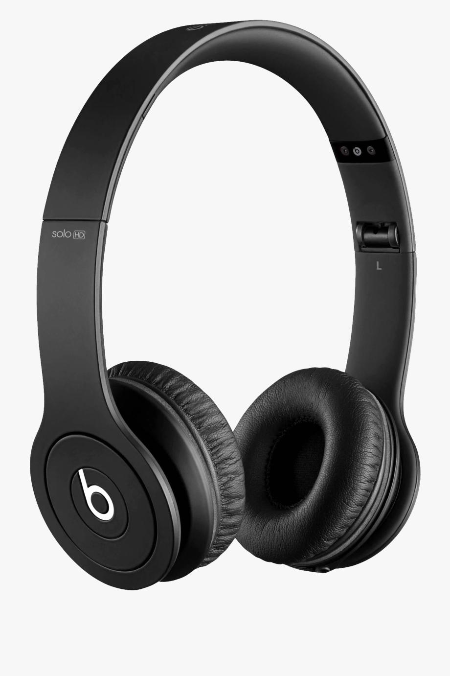 Headphone clipart headphone beats. Cool red solo hd