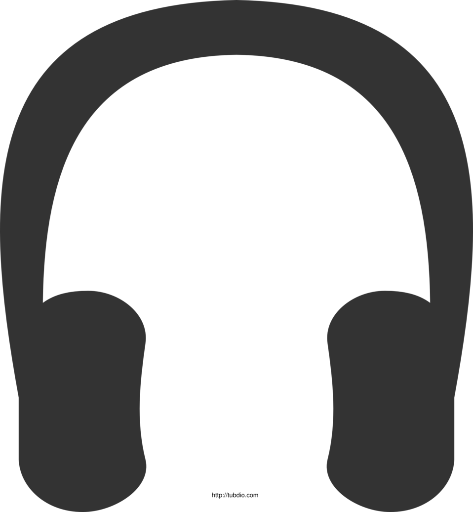 headphone clipart illustration