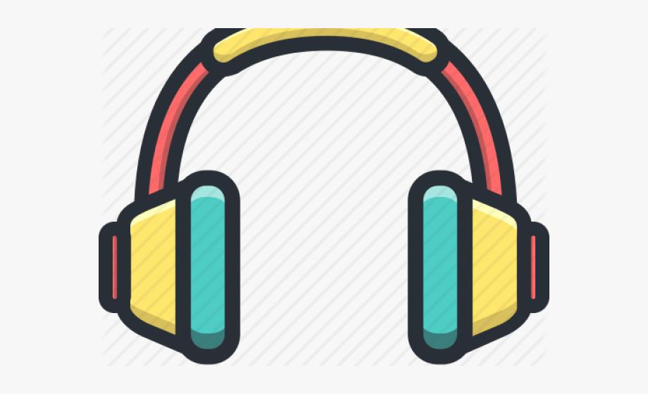 Headphones clipart student centers. Headphone call center headset