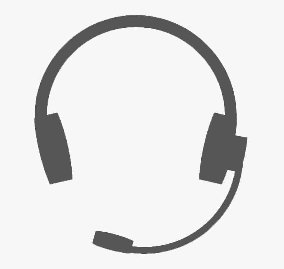 Headphones clipart learning center. Call headphone icon free