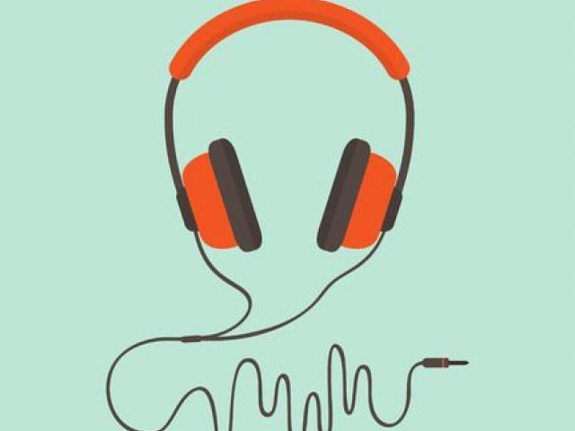 Headphones x free clip. Headphone clipart learning center