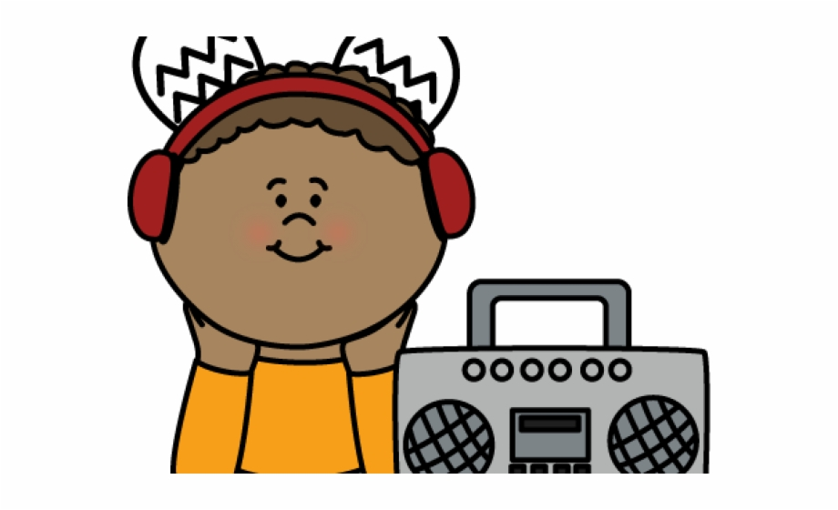 Headphone clipart listening center. Headphones listen to music