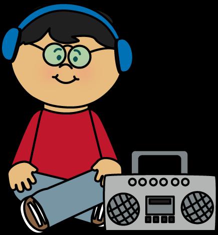 clipartlook. Headphone clipart listening center