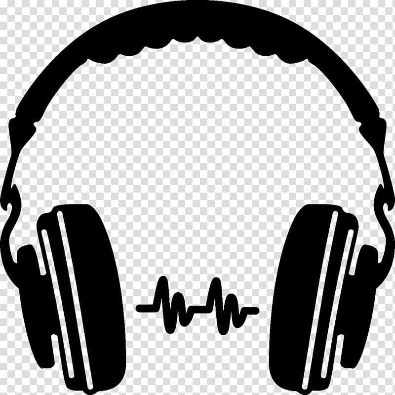 Transparent background png . Headphones clipart headset