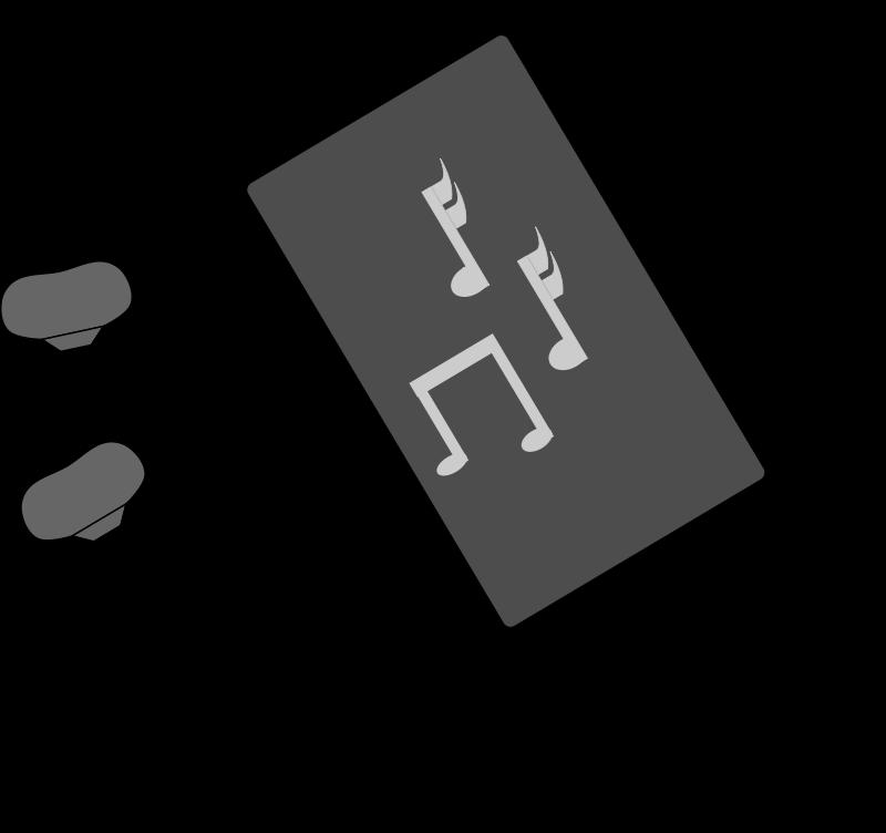 Player clip art me. Headphone clipart preschool music