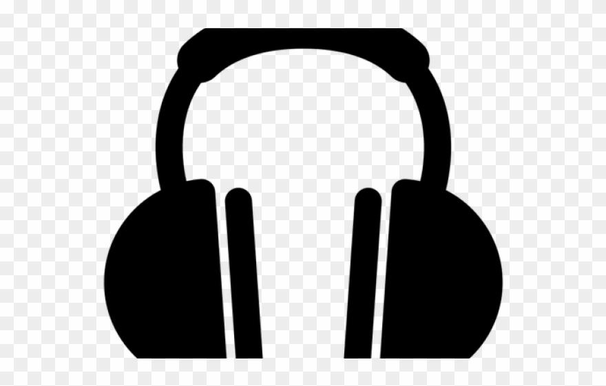 Headphone music icon transparent. Headphones clipart logo