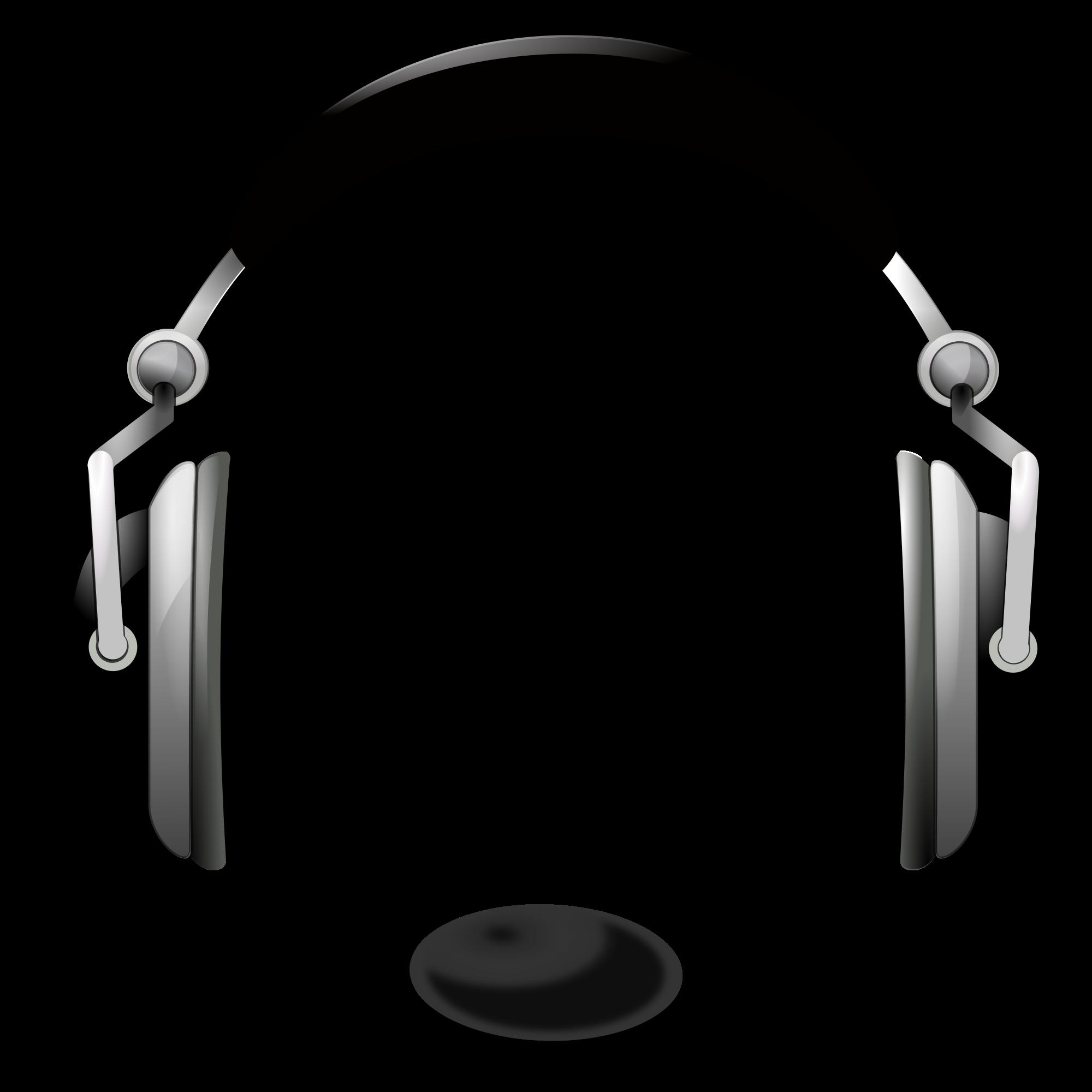Headphone clipart radio headphone. File oxygen devices audio