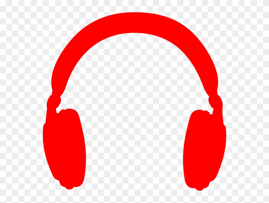 Headphones clipart red headphone. Icon png pinclipart