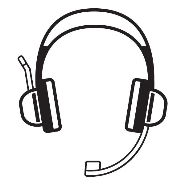 Headphones clipart line art. Free god cliparts download