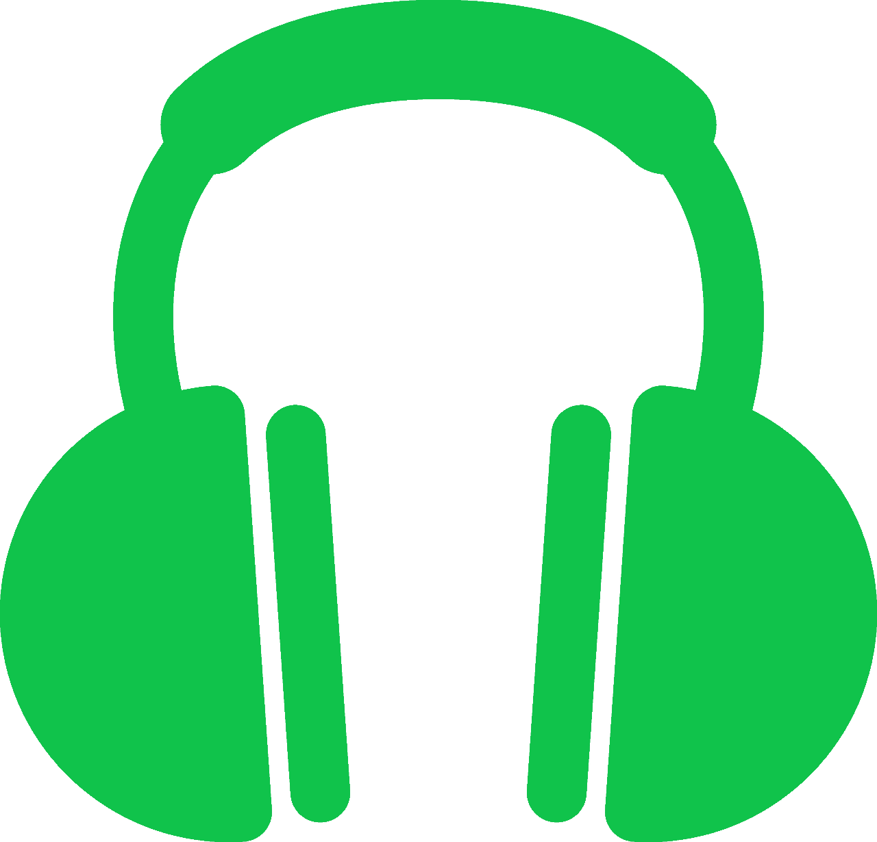 Headphone clipart stereo. Just drum sounds the