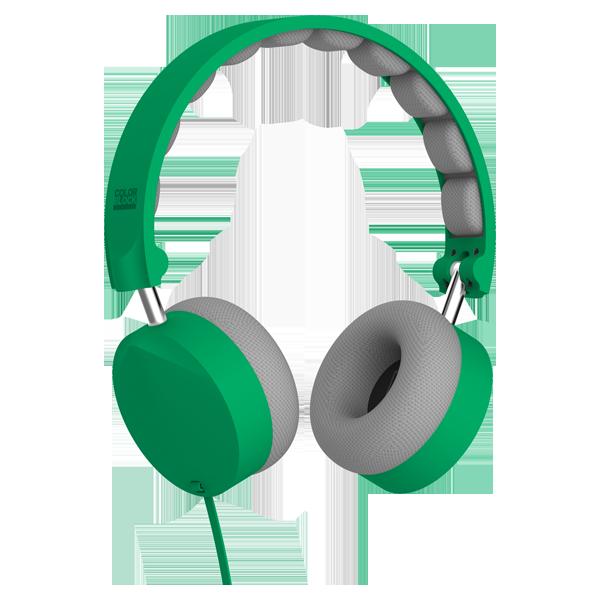 Headphone clipart stereo. On ear mint