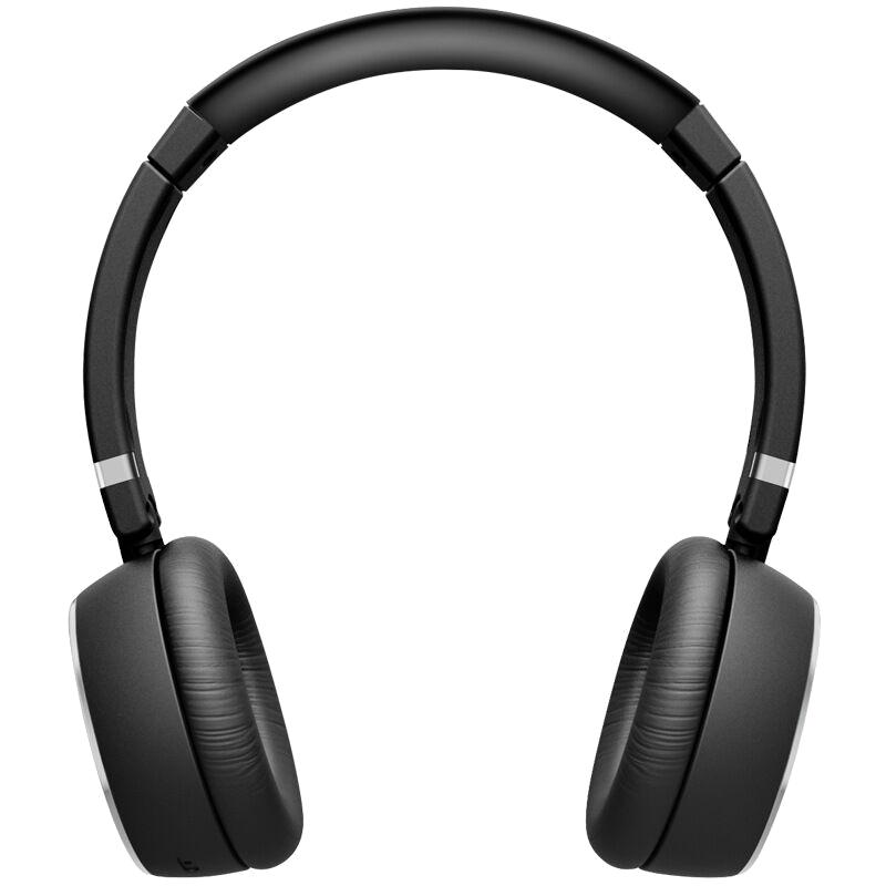 Headset black png . Headphones clipart wireless headphone