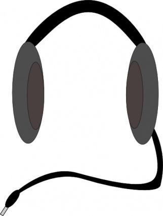 Headphones x free clip. Headphone clipart word work center