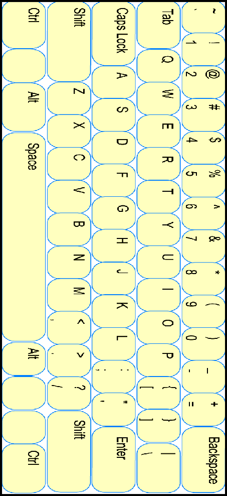 Printable keyboard template for. Words clipart work station