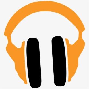 Headphones clip art word. Headphone clipart writing center