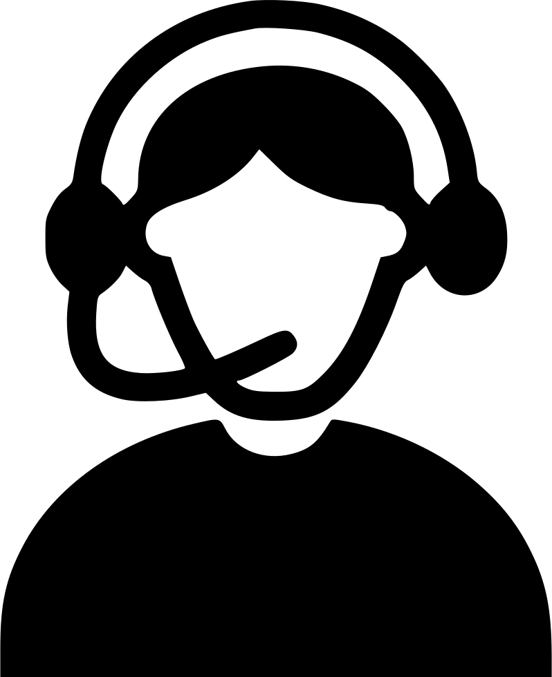 Headphone clipart writing center. Call agent svg png