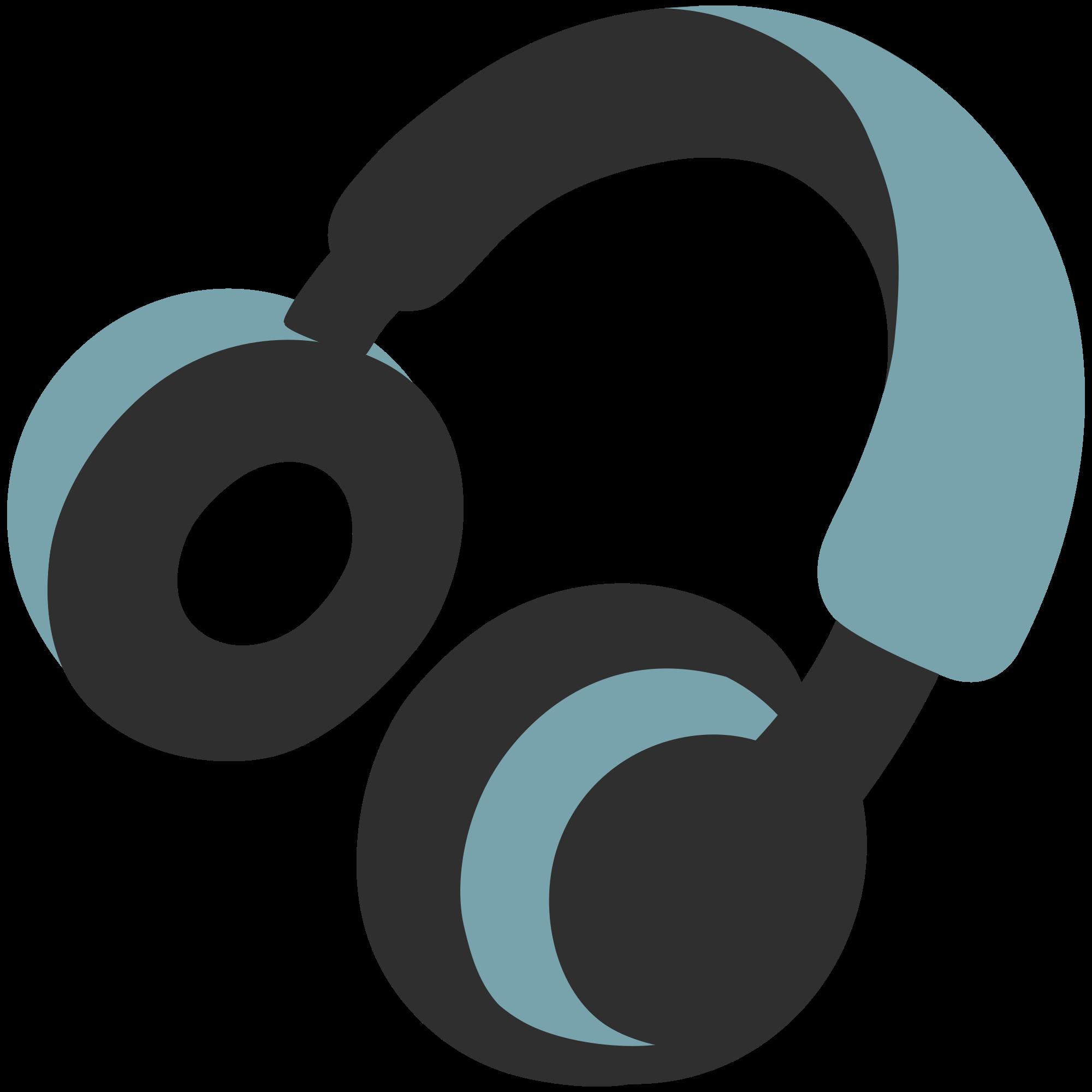 File emoji u f. Headphones clipart writing center